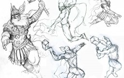 Thor sketches 02