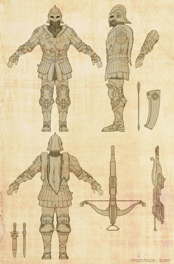 crossbowman-tpose-orthographic-by-mozchops
