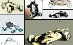 Re-volt Car designs