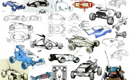 Re-volt Cars - sketches 01