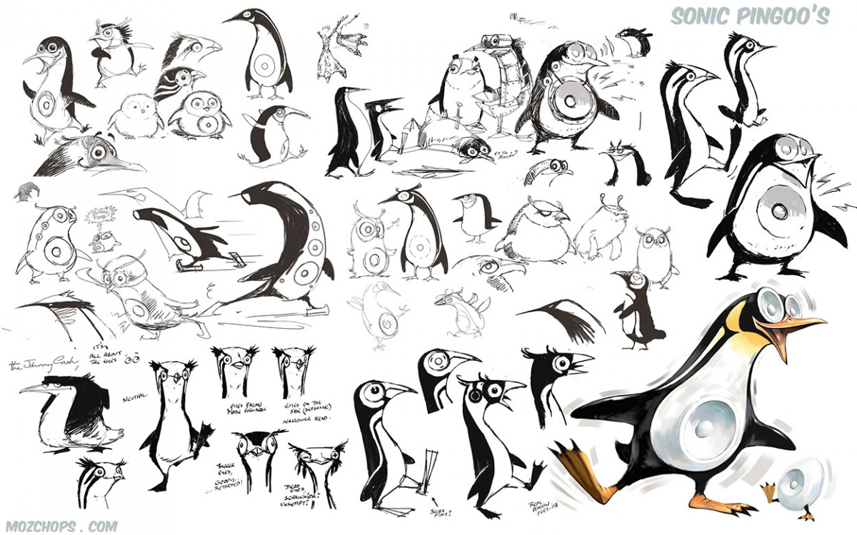 05a PENGUIN-sketches-01
