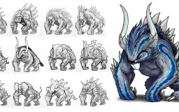 Beast concepts by Mozchops