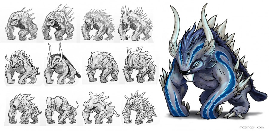beast-sketches-by-mozchops
