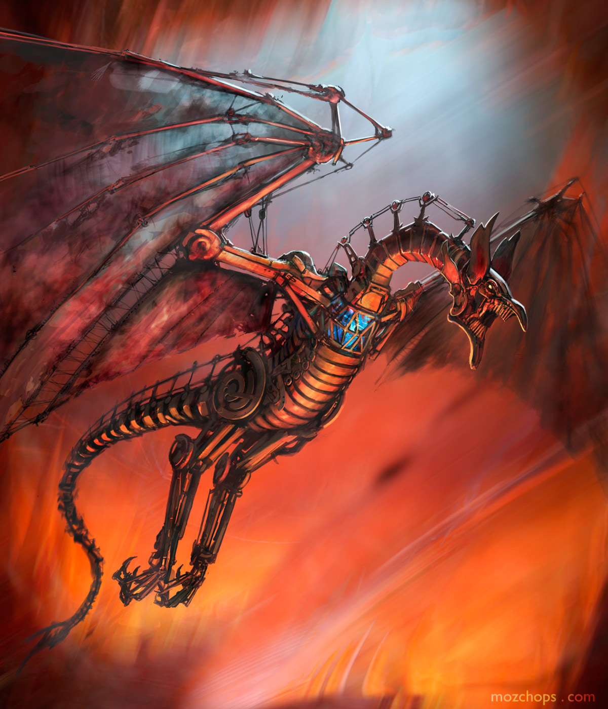 mechanical-wyvern-by-mozchops