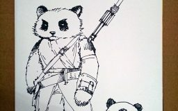 Star Wars Pandas by Mozchops