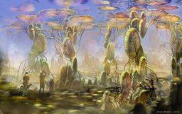 Strange Forest by Mozchops