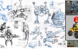 Rocket Power sketches