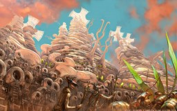 The Cajorite Mounds by Mozchops