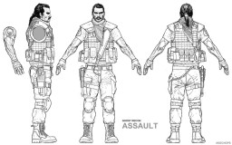 Ghost Recon Assault character sheet by Mozchops
