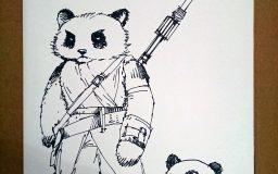 Star Wars Pandas by Mozchops